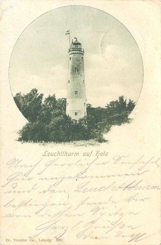 latarnia morska Hel do 1939 roku