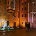 Muzeum Archeologiczne, Długie Pobrzeże, iluminacja, Brama Mariacka, Gdańsk, www.polnocna.tv,www.strefahistorii.pl