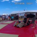 Embedded thumbnail for Walki rycerskie podczas gali ALMMA na... plaży