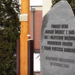 Embedded thumbnail for Pomnik w Pruszczu Gdańskim ku pamięci ofiar Marszu Śmierci z 1945r